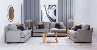Lucca Sofa Set Grey