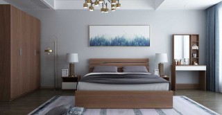 Vegas Bedroom Set 5Pcs