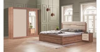 Lagina Bedroom Set Walnut
