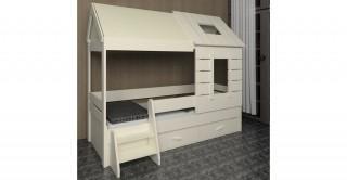 EV Ivory 90 x 200 Kids Bed