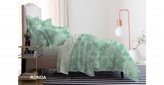 طقم غطاء لحاف مطبوع روندا 240 × 220 سم