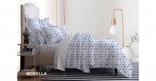 طقم غطاء لحاف مطبوع موريلا 260 × 240 سم