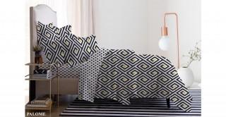 طقم غطاء لحاف بالومي 240 × 220 سم