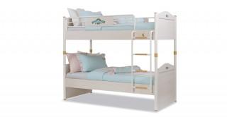 سرير بطابقيّن لغرف الأطفال إس إل فلورا